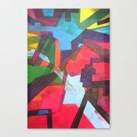 labyrinth Canvas Prints featuring Labyrinth by fieltrovitz