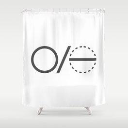 Pi Definition 1 Shower Curtain