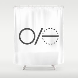 Pi Definition 1 Shower Curtain