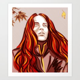 Maedhros September Art Print
