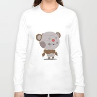 thundercats Long Sleeve T-shirts featuring Ro-Bear-Bill by Rod Perich