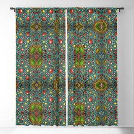 Vintage beautiful mosaic Blackout Curtain