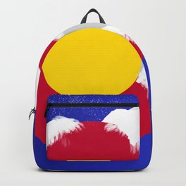 Colorado Winter Flag Backpack