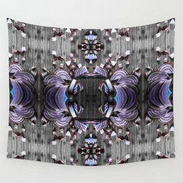 Crying Purple Tears Wall Tapestry