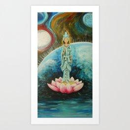 Quan Yin Art Print