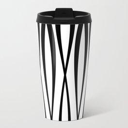 Background of seamless geometric pattern Travel Mug