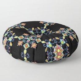 Ornamental Filigree Floor Pillow