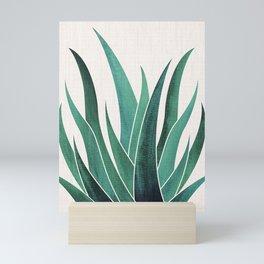 Desert Agave Mini Art Print