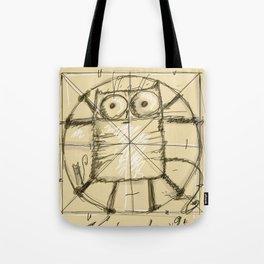Kot da Vinci Tote Bag
