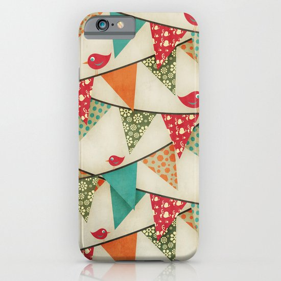 Home Birds 'N' Bunting. iPhone & iPod Case