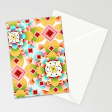 Groovy Cosmic Geometric Stationery Cards