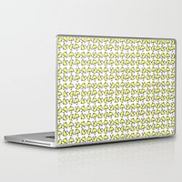 how i met your mother Laptop & iPad Skins featuring Yellow Umbrella inspired by How I Met Your Mother by Constance Lim