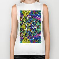 starry night Biker Tanks featuring #STARRY #NIGHT by JOHNF