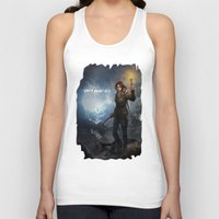 tomb raider Tank Tops featuring Rise of the Tomb Raider - v01 by trixdraws