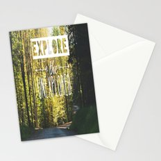 Explore the Unexplored Stationery Cards