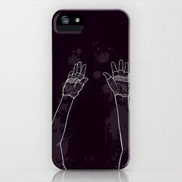 Look Mum No Hands! iPhone Case