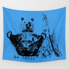 Happy To Bear It With You Wall Tapestry