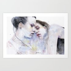 xx Love Art Print