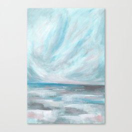 Trust - Dark and Moody Seascape Canvas Print