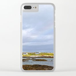 Connemara Coast #3 Clear iPhone Case
