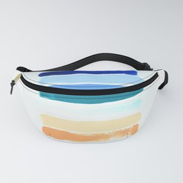 Beach Stripes Fanny Pack