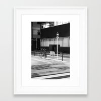 minimalist Framed Art Prints featuring Minimalist by Jesuistigerlily