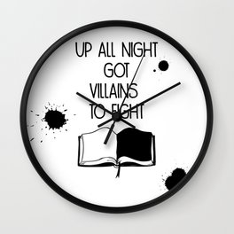 Villains to Fight Wall Clock
