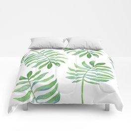 Tropical Palm Leaf Comforters