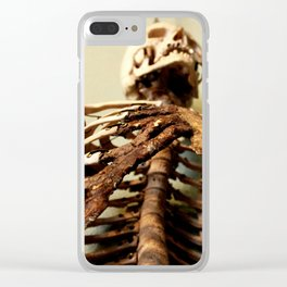 Foley Skeleton Clear iPhone Case