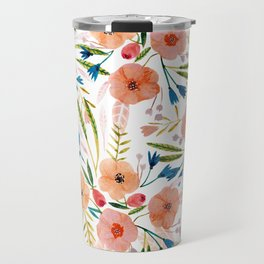 Floral Dance Travel Mug