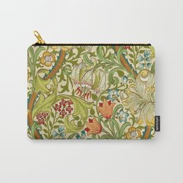 William Morris Golden Lily Vintage Pre-Raphaelite Floral Carry-All Pouch