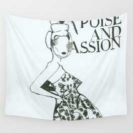 Poise & Passion Wall Tapestry