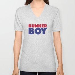 BUNKER BOY Unisex V-Neck