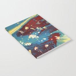 Galactic Rose Notebook