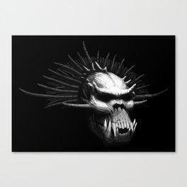 Troll Skull Canvas Print