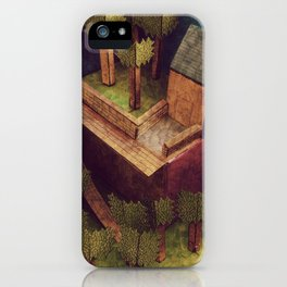 Forest House iPhone Case