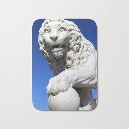 Bridge of Lions lion 2 Bath Mat