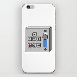 Self Controller Control Unit Interface iPhone Skin
