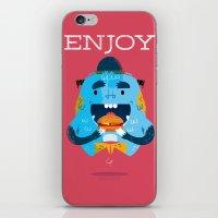 :::Enjoy Monster::: iPhone & iPod Skin