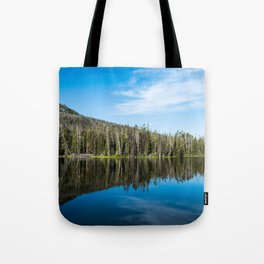 Yellowstone Reflective Lake Tote Bag
