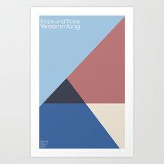klaps und tickle Art Print