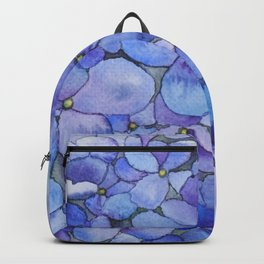 Watercolour Hydrangea Backpack