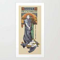 Rise of the Purebloods Art Print