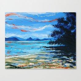 Lawa Island Canvas Print