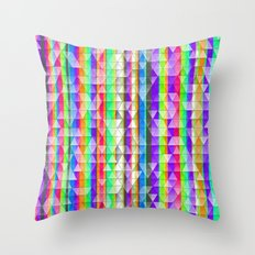 Aztec Stripes Throw Pillow