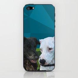 Rocky Dog iPhone Skin