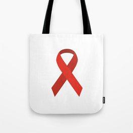 Red ribbon #society6 #decor #buyart #artprint Tote Bag