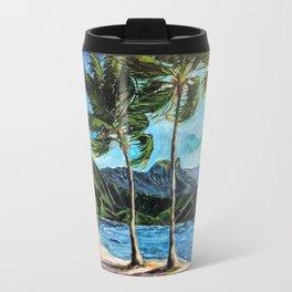 Hanalei Bay Kauai Travel Mug