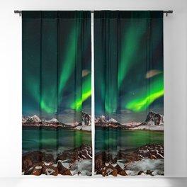 Aurora Borealis - Northern Lights - Twilight Blackout Curtain