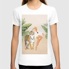 The Lady and the Tiger T-shirt